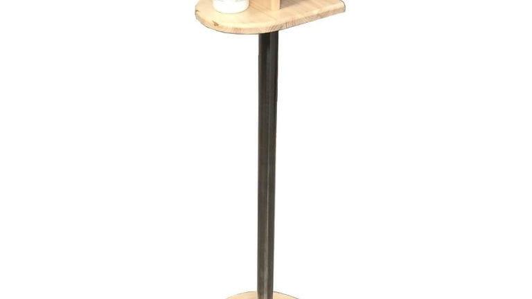 Pine Freestanding Hand Sanitiser Platform Dispenser Stand 1100x330D