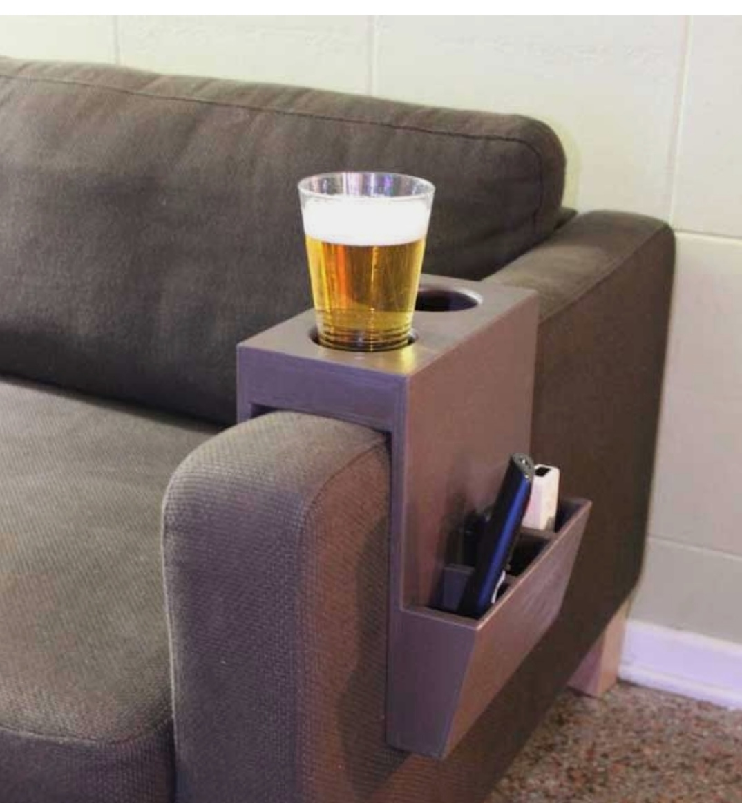 Dads chair beer holder