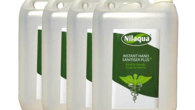 Nilaqua Hand Sanitiser Plus Refill 5l – 4 Pack
