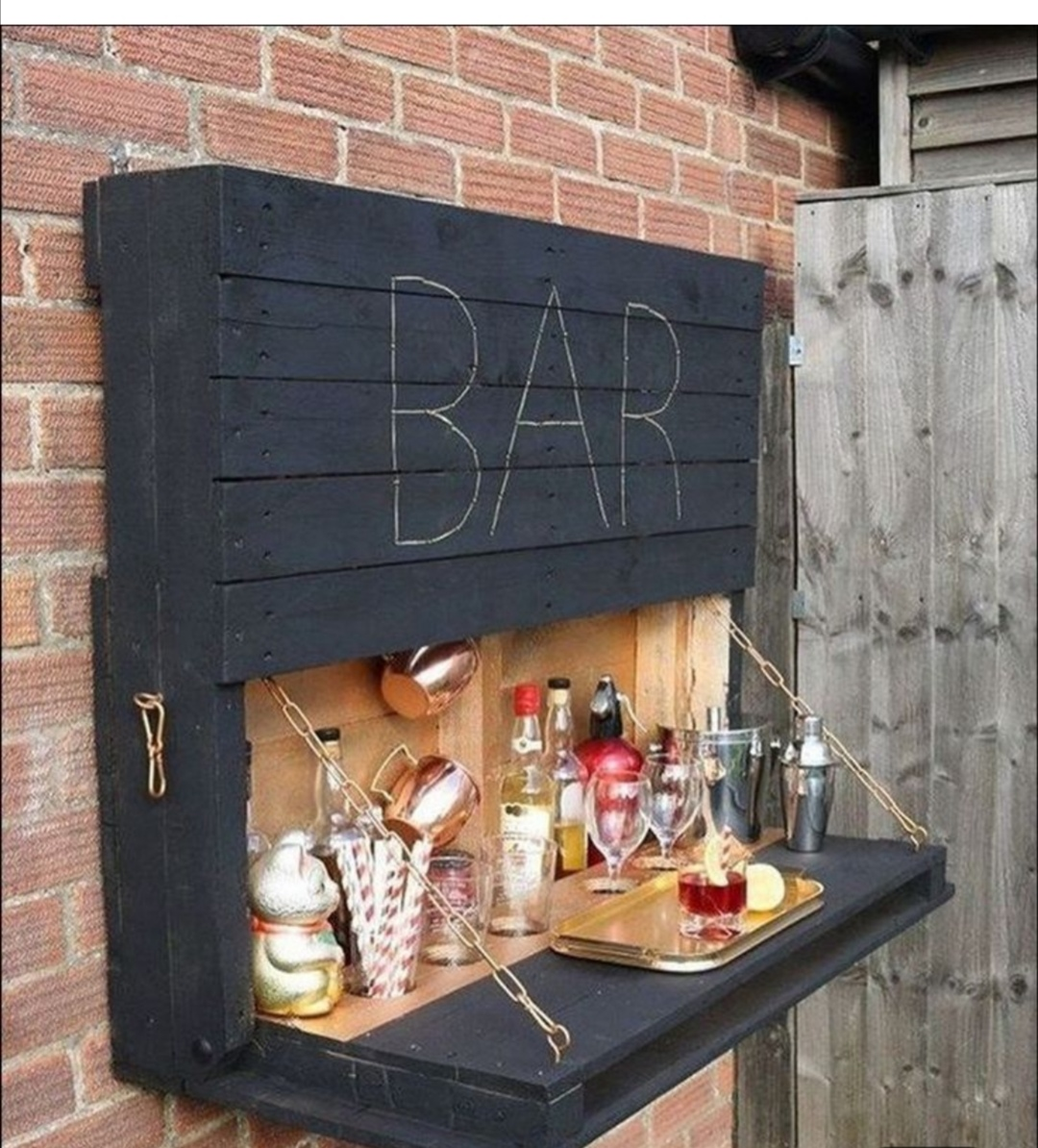 Bar for your entertainment area