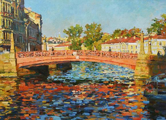 """Павел Еськов, """"Красный мост"""""""