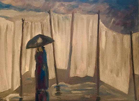 Мокрое белье