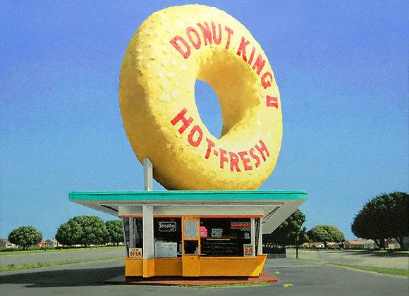 """Howard Brookes    """"Donut king"""""""