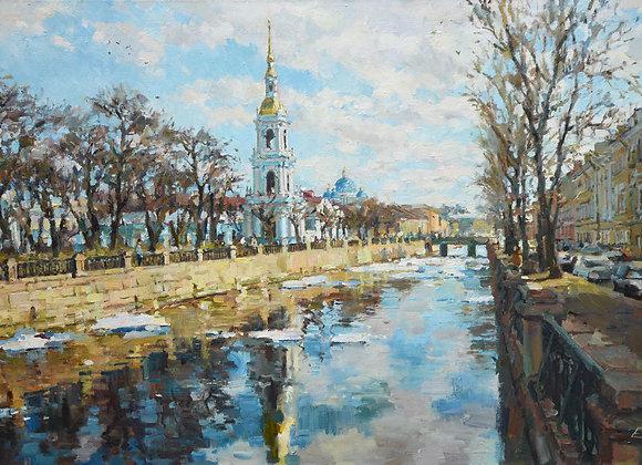 """Павел Еськов, """"Крюков канал. Апрель"""""""