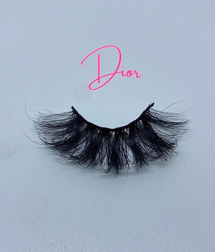 'Dior' 3D Mink Eyelashes