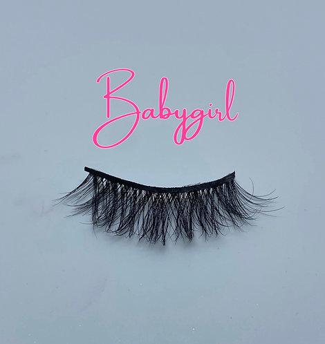 "'Babygirl"" 3D Mink Eyelashes"