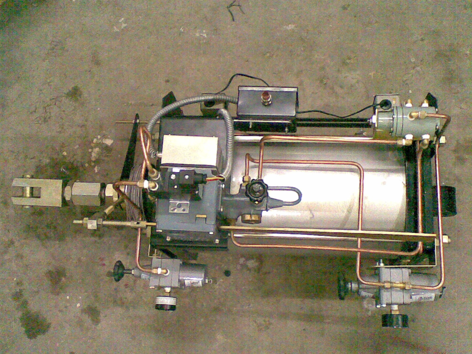 Pneumatic_Actuator WITH POSITION TRANSMI