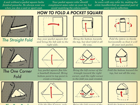Pocket Square Guide | The Art of Manliness