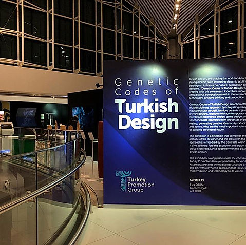 """Genetic Codes of Turkish Design"" Türk T"