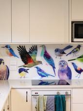 Geometric New Zealand Native Birds