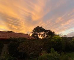 An April Sunset 2020
