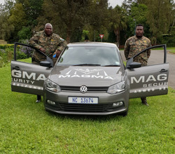 Sanele (Driver) & Patrick (Co-Pilot)