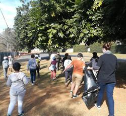 Pick up litter incentive Mandela Day