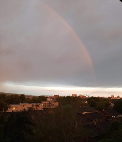 After the storm comes a rainbow Feb 2020