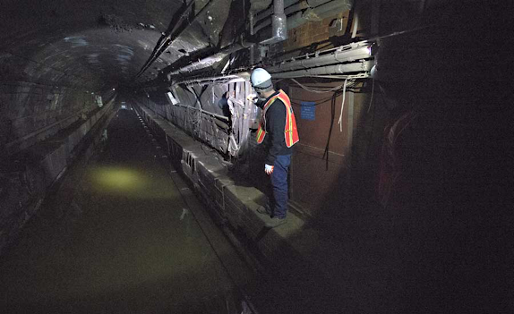 MTA New York City Transit Authority Sandy Repair/Rehab of Canarsie Tunnel Connecting Manhattan and Brooklyn