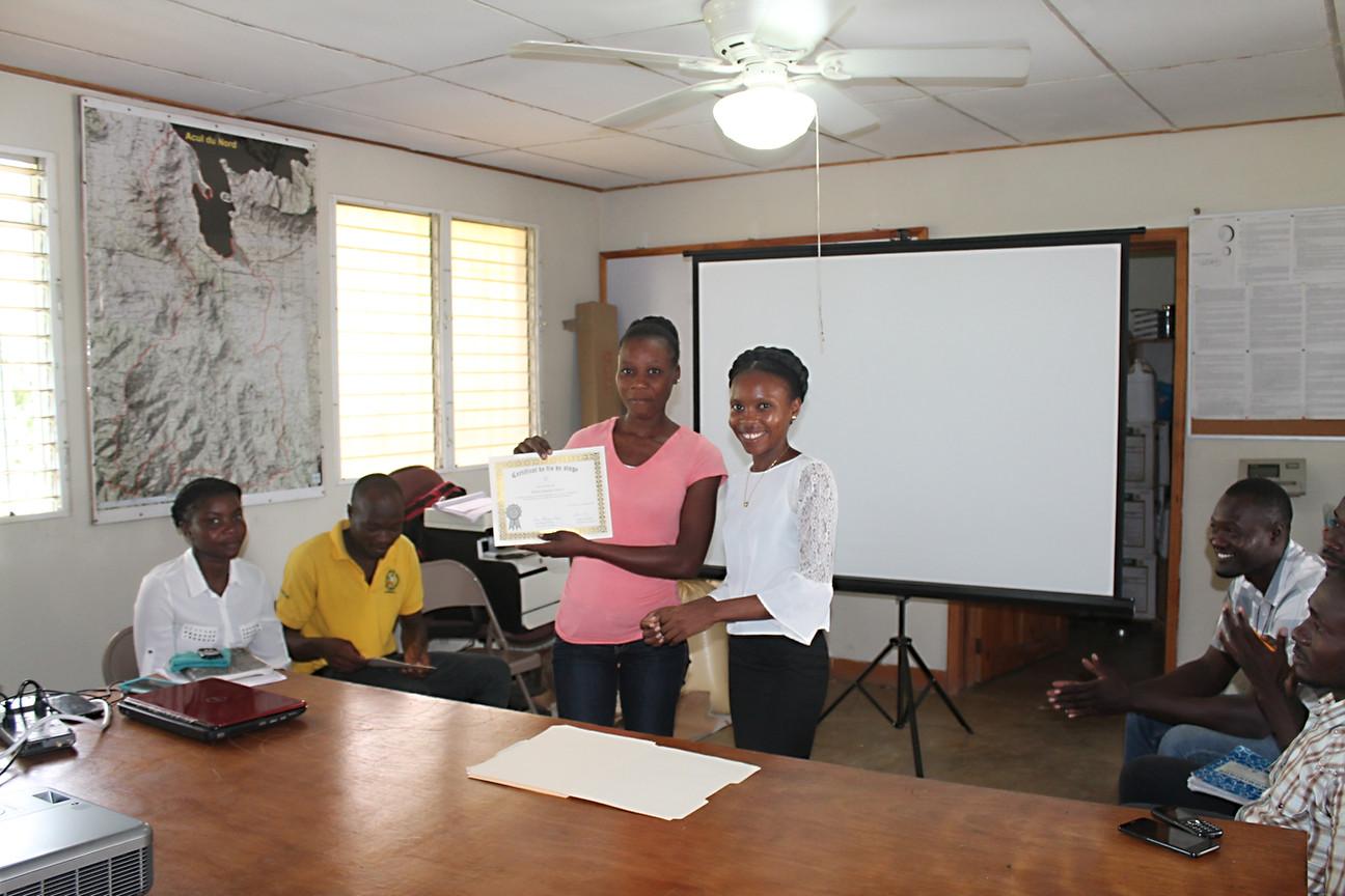 Internship certificate delivery