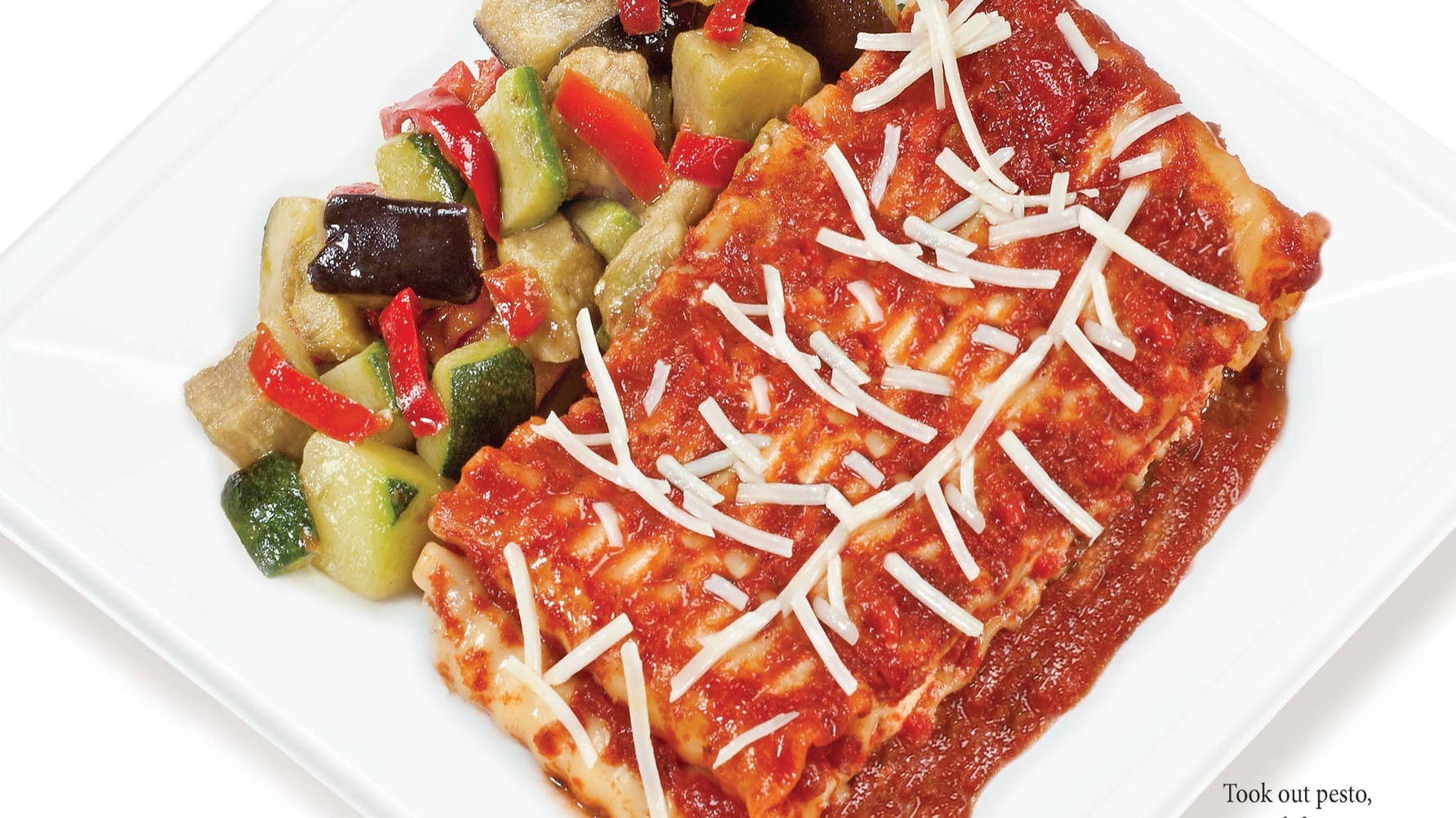 No Pesto Replace Meatsauce with Tomato Sauce
