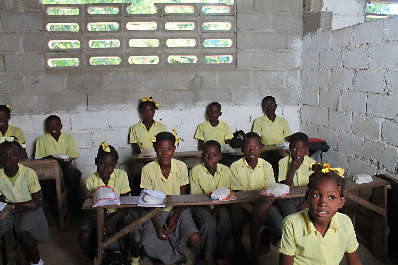 Children participating in the breakfast program