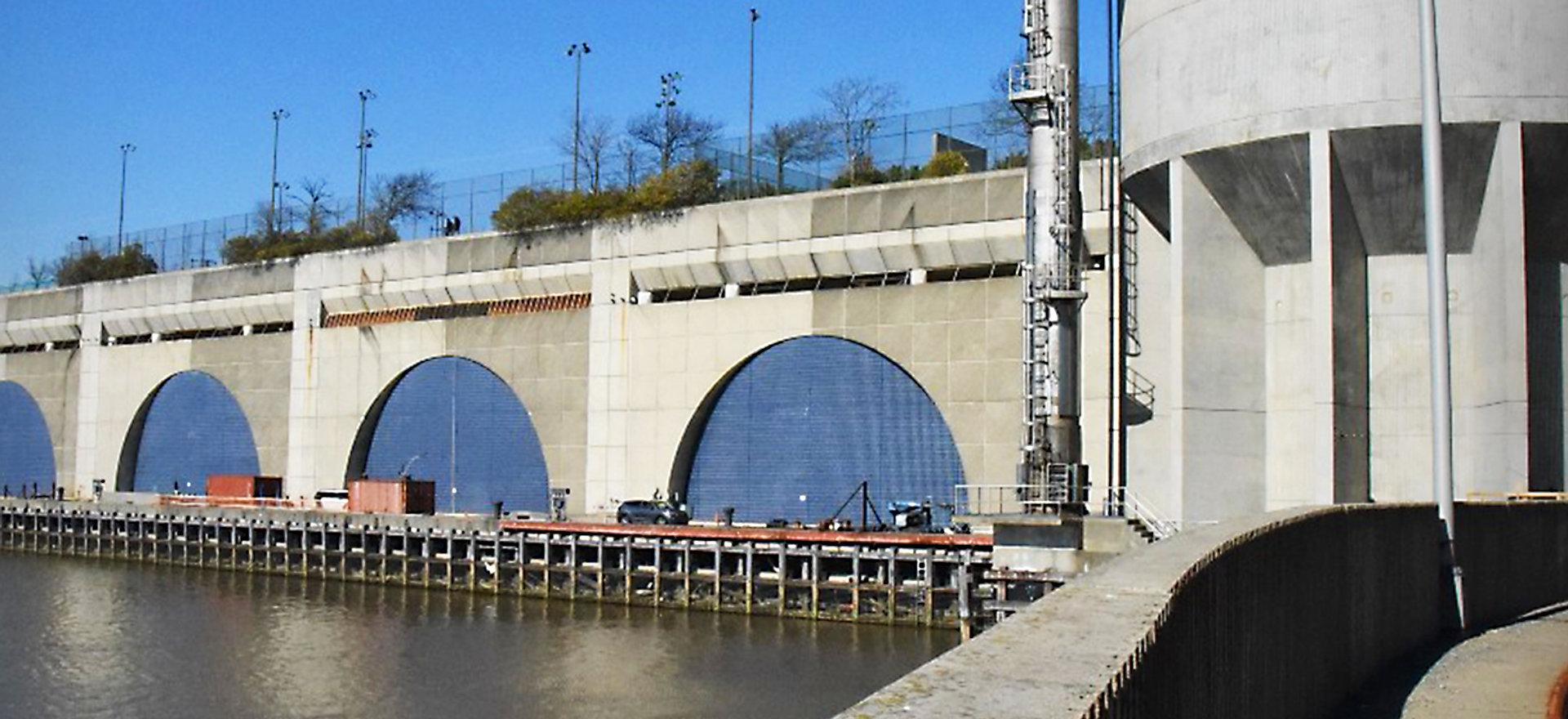 North River WWTP Wiggins Type Gas Holder Repairs