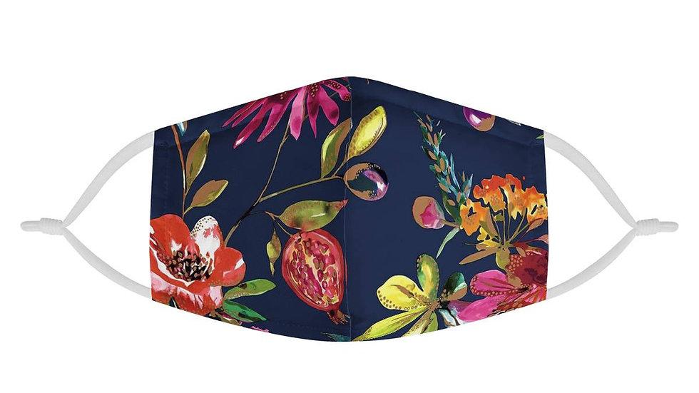 Fruit Garden | 100% Soft Pima Cotton Triple Layer Face Mask