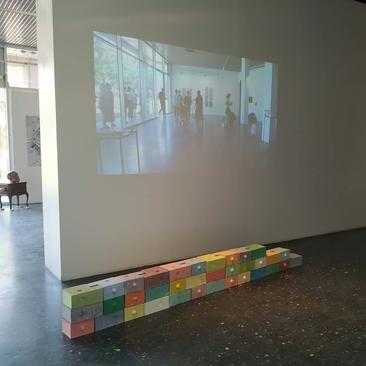 """Exposition """"Midi la nuit"""", juin-juillet 2019,  Galerie de l'Esplanade, Metz"""
