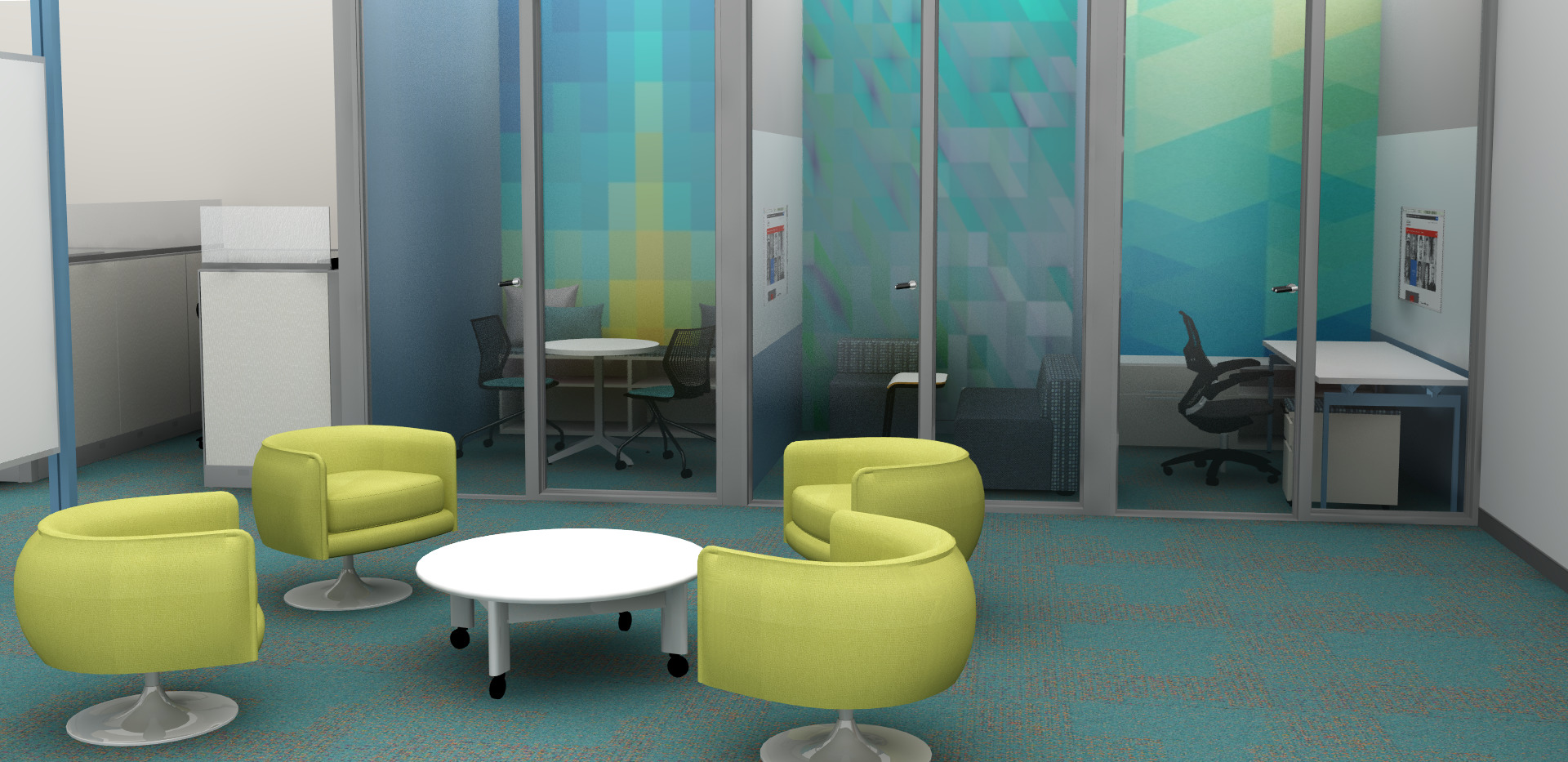 Private and Group Office Spaces