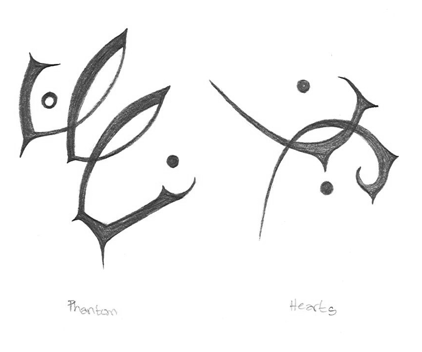 Image: Majick symbols from the book
