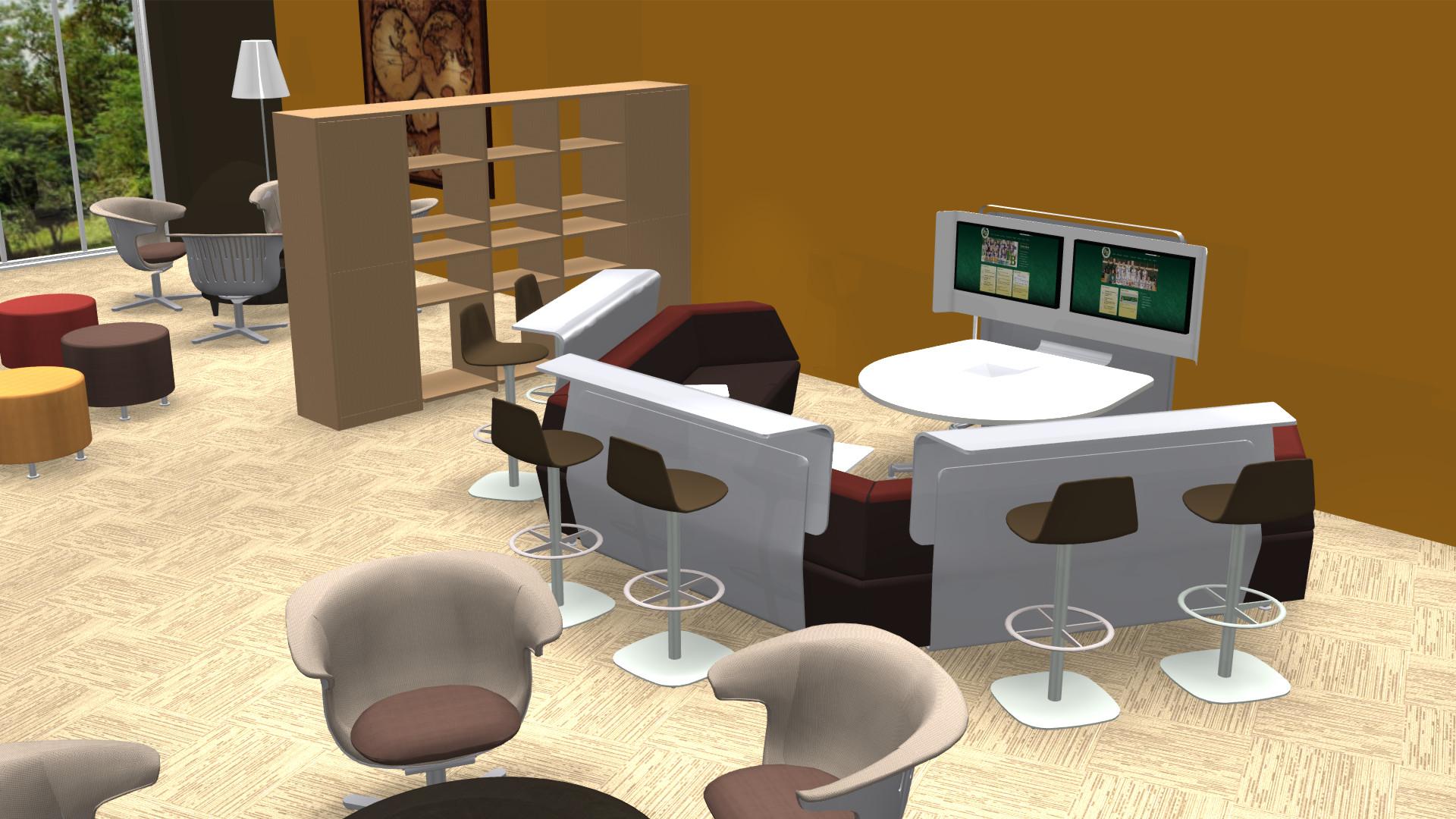 School Library Collaboration Area