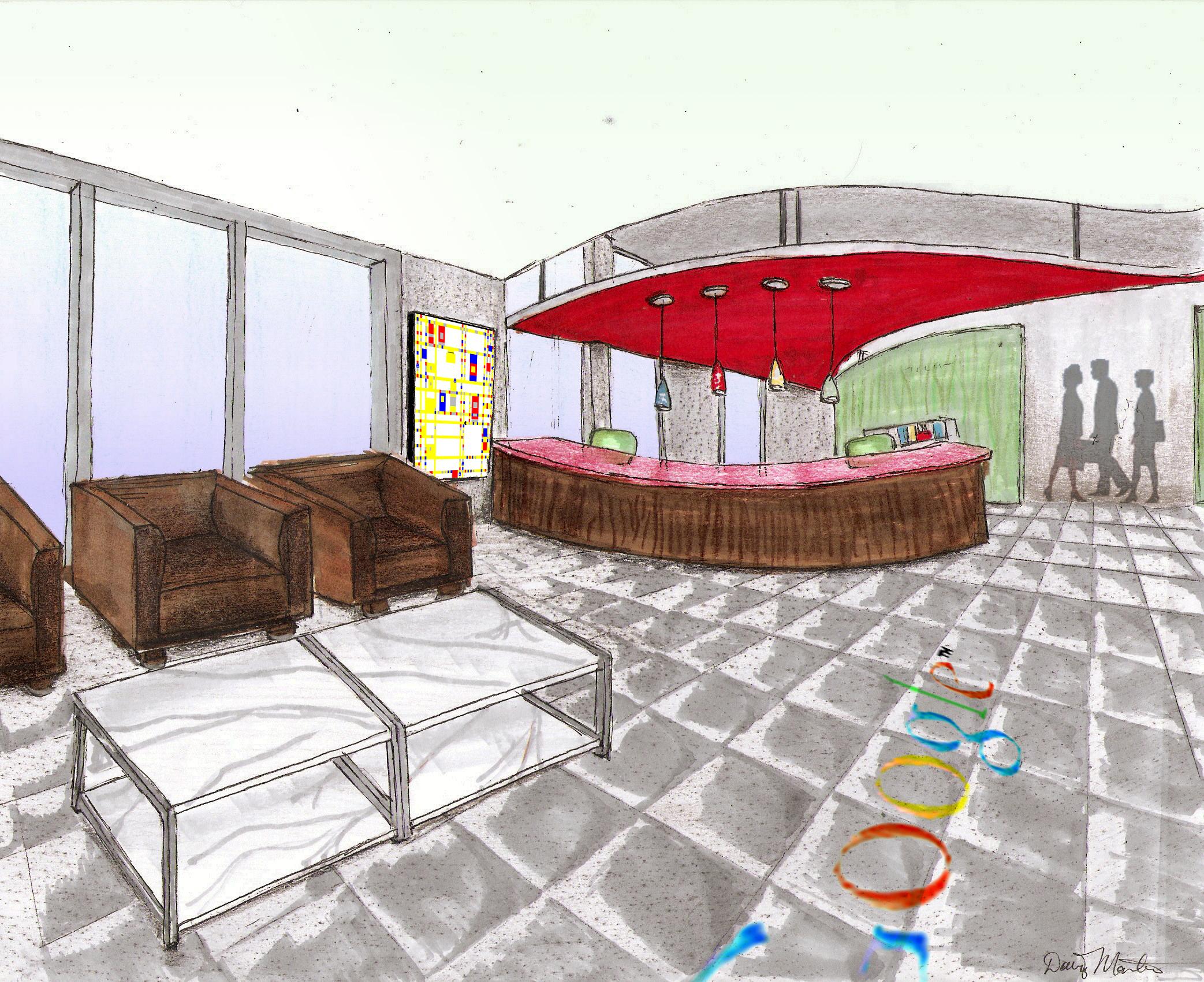 Google Headquarters Concept