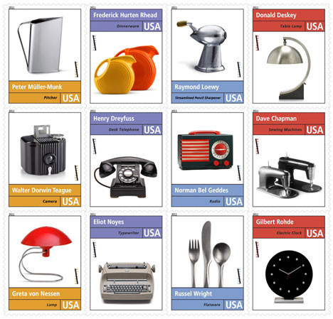 Historic Industrial Design Stamps