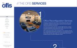 Image: Website services page design