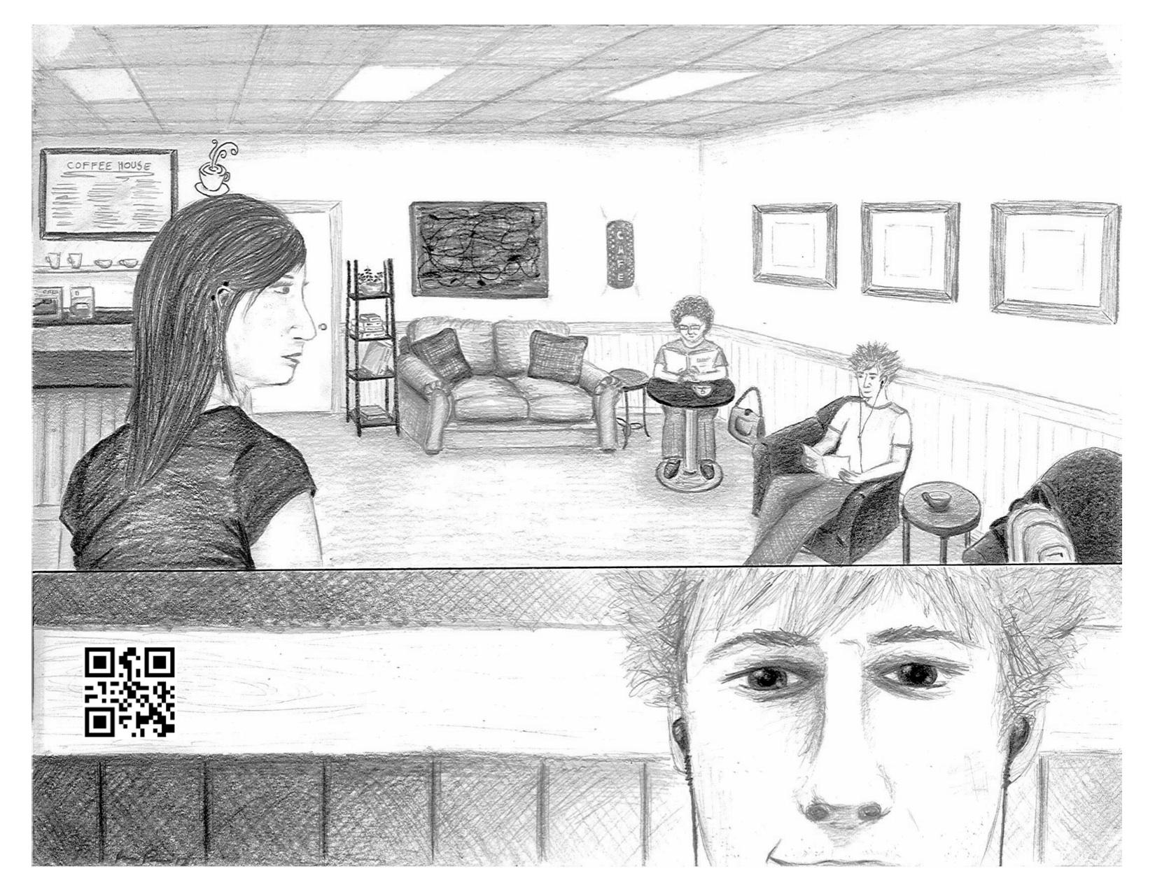 Coffee House Illustration