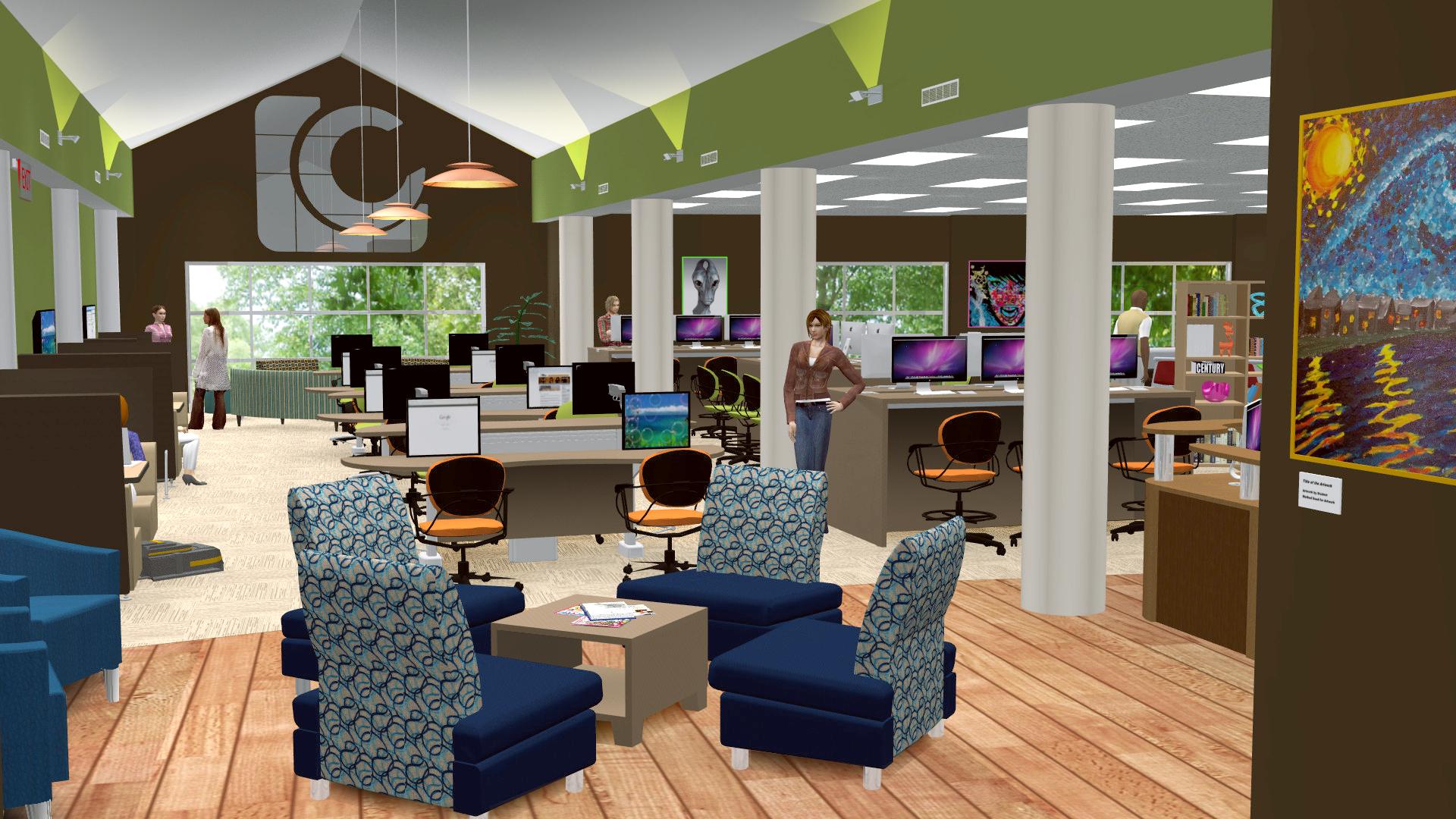 School Library Concept