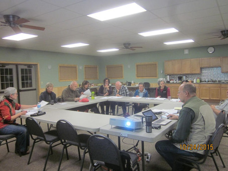 Banadad Trail Association Annual Meeting to be held on October 26