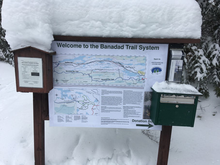 New Banadad Trailhead Signage/Poster