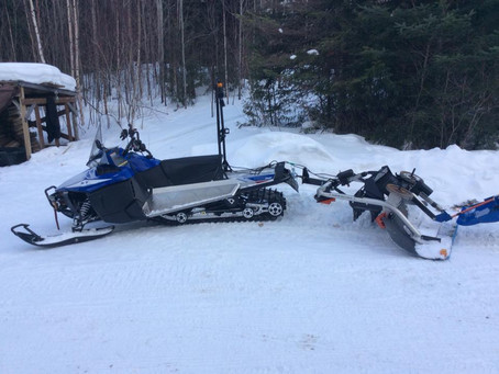 New Snowmobile Groomer Ready to Hit the Banadad