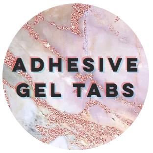 Adhesive Gel Tabs - x24