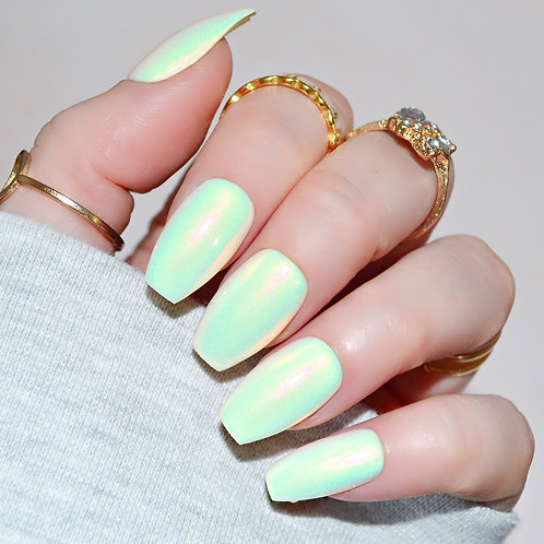 Iridescent Pastel Yellow (Ready to Dispatch)