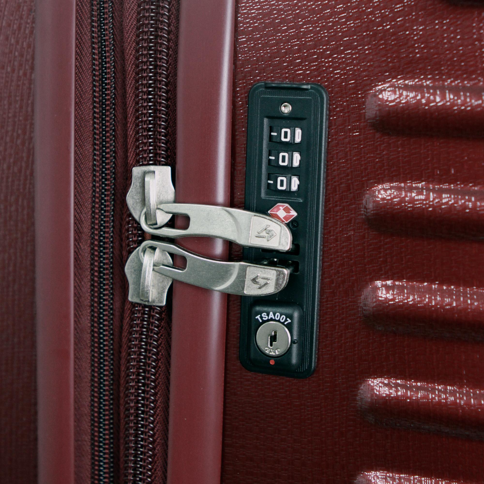 Gabbiano-GA1060-Burgundy-Lock