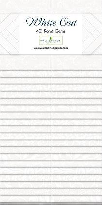 White Out Essential 40 Karat Gems 2.5in Strips