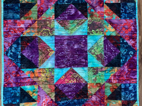 Playing with batiks