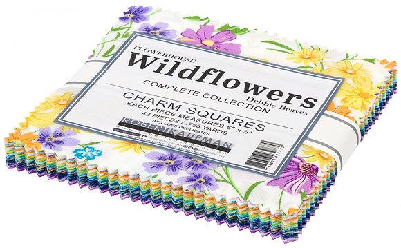 Flowerhouse Wildflowers Charm Squares