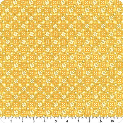 Yellow Floral Medallion Kimberbell Basics