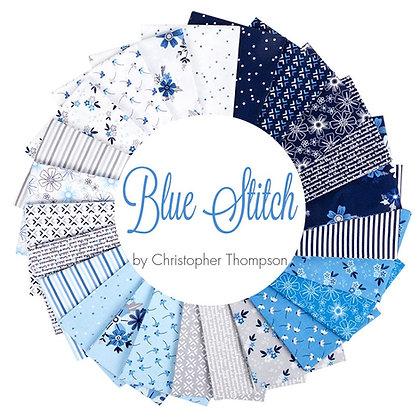 Blue Stitch Fat Quarter Bundle