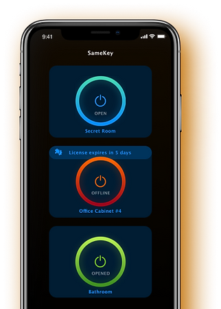 SameKey mobile application