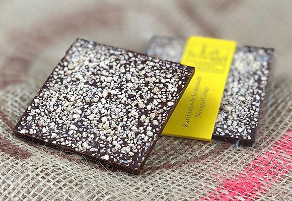 NougatCrisp – handgemachte Edelschokolade mit Original Nougat de Montélimar