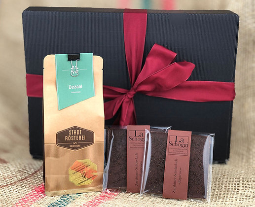 «Espresoooh!» – Kakao aus Kolumbien trifft Kaffee aus Kolumbien...