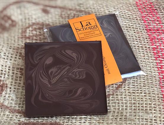 Handgemachte Edelschokolade mit Orangen-Bouquet