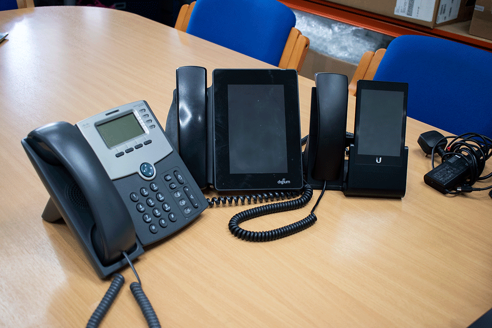 Modern phone systems