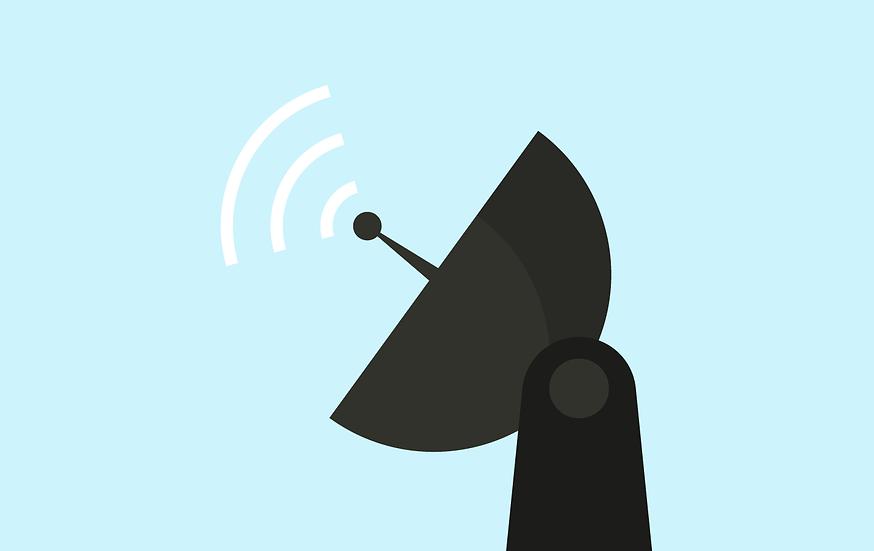 Dental practice satellite internet